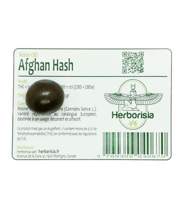 Résine CBD Afghan Hash 3