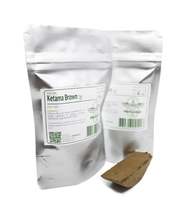 Pollen CBD Ketama Brown 5