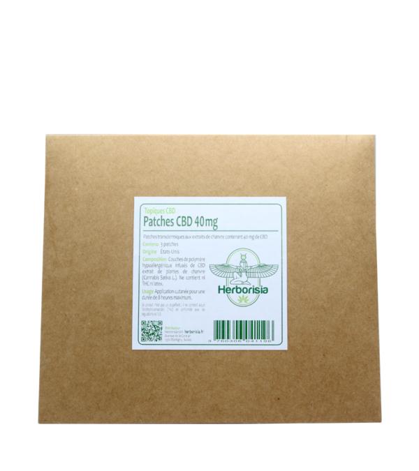 Patchs CBD 40mg Herborisia 2