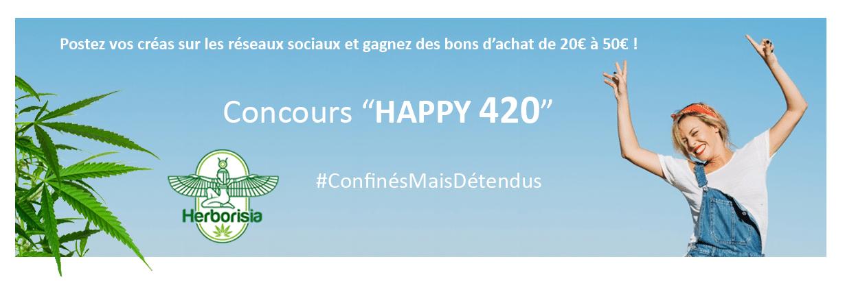 RÈGLES DU CONCOURS HAPPY 420 1