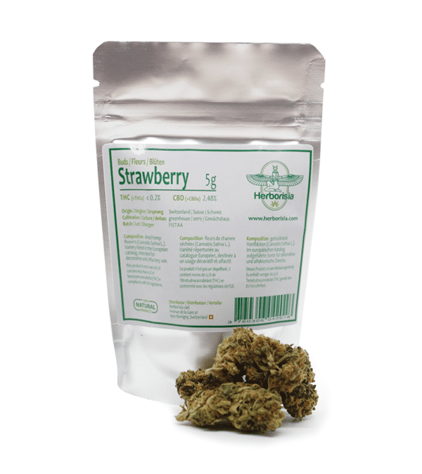 Fleurs CBD Strawberry 3