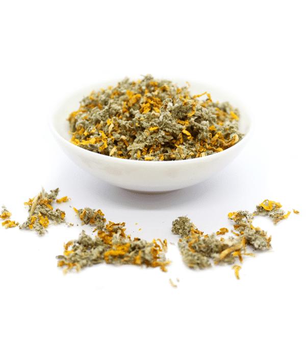 "Substitut au tabac ""Ida Verba"" - mélange Framboisier & Bouillon Blanc 1"