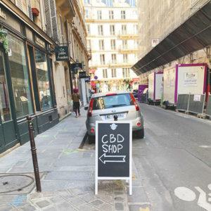 CBD shop Paris Le Marais
