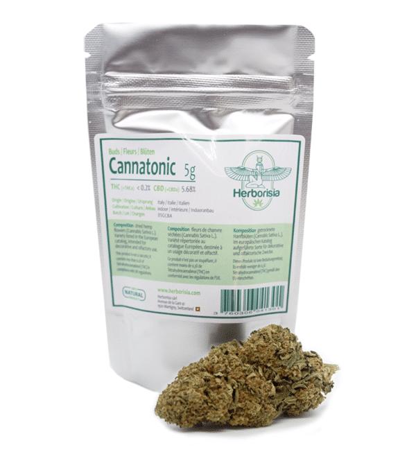 Fleurs CBD Cannatonic 3